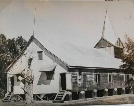 L'église luthérienne norvégienne de Betela
