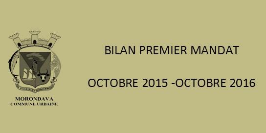 Bilan mandat 2015 2016