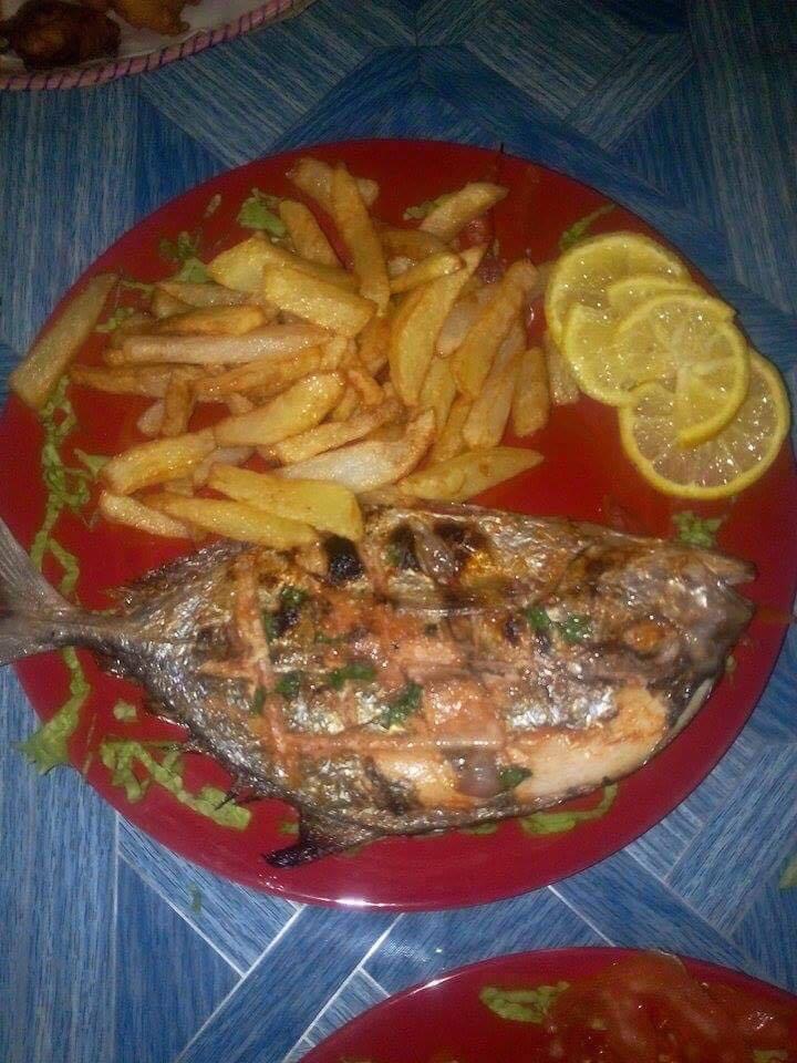 Cheval de mer poisson frite