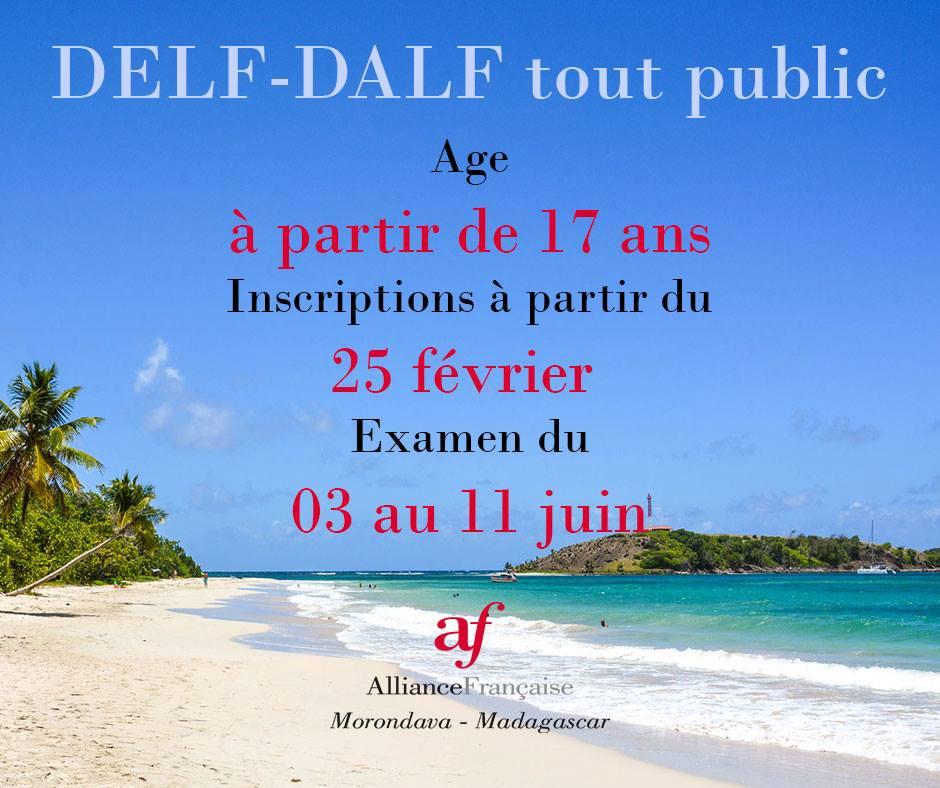 Delf dalf alliance francaise morondava