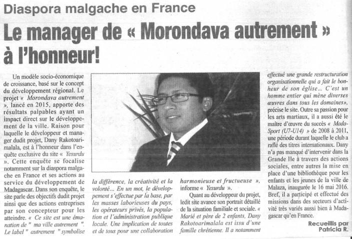 Diaspora malagache en france
