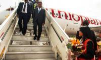 Ethiopian airlines a madagascar ivato 2017