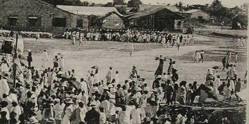 Goélettes dans le port de Morondava 1933