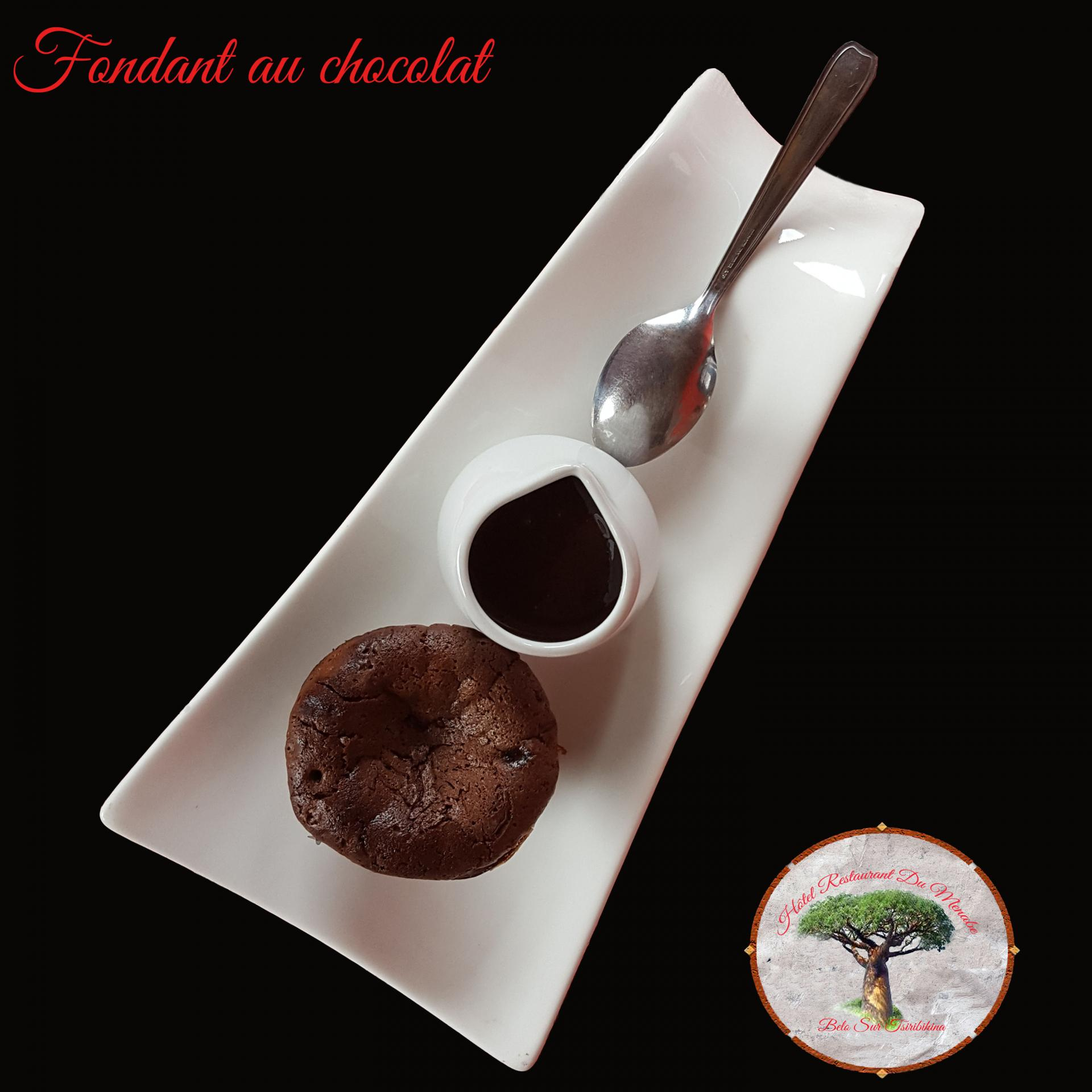 Fondant chocolat restaurant du menabe