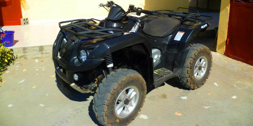 Location quad morondava