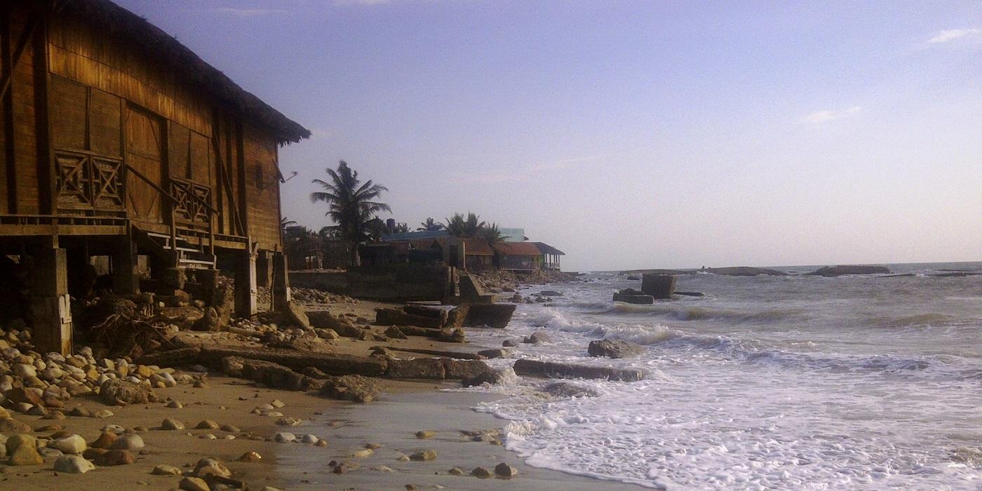 Montee de maree sur morondava 1
