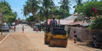 Morondava infrastructure routiere