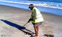 Nettoyage de la palge nosy kely 2