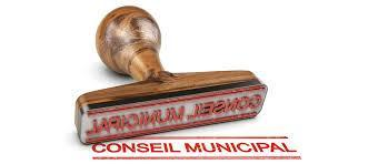Tampon conseil municipal