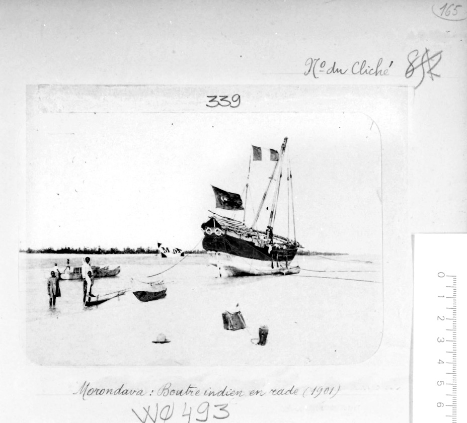 1901-boutre indien en rade