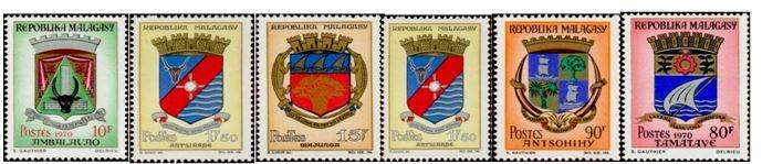 Timbres malagasy