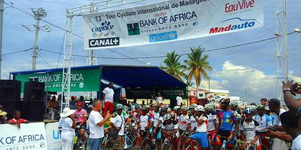 Tour de mada cycliste criterium de morondava 2016